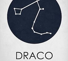 DRACO - Constellations  by Hydrogene