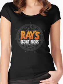 Rays Occult Books Women's Fitted Scoop T-Shirt