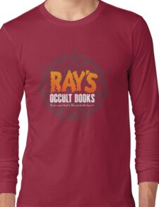 Rays Occult Books Long Sleeve T-Shirt