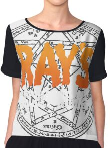 Rays Occult Books Chiffon Top