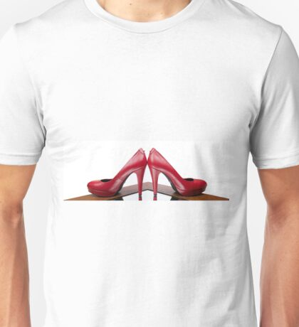 Red High Heels Unisex T-Shirt