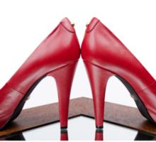 Red High Heels Sticker