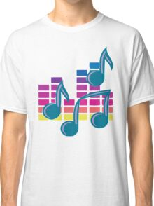 Music Notes 80s Classic T-Shirt