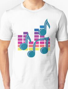 Music Notes 80s T-Shirt