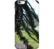 Underneath the Monkey Puzzle iPhone Case/Skin