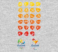 Pictogram rio 2016 Unisex T-Shirt