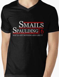 SMAILS SPAULDING 2016 for President T-Shirt Mens V-Neck T-Shirt