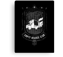 Empty Hearse Club Canvas Print