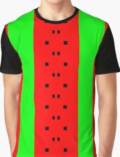 Simalcrum of Watermelon Graphic T-Shirt