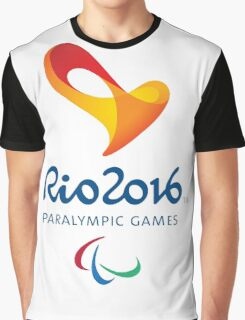 Rio 2016 PARALYMPIC GAMES Graphic T-Shirt