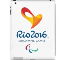 Rio 2016 PARALYMPIC GAMES iPad Case/Skin