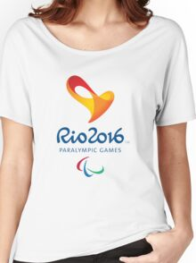 Rio 2016 PARALYMPIC GAMES Women's Relaxed Fit T-Shirt