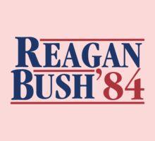 Reagan Bush 84 One Piece - Short Sleeve
