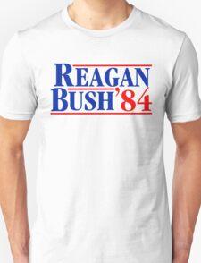 Reagan Bush 84 Unisex T-Shirt