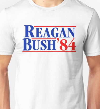 Reagan Bush 84 Unisex T-Shirt