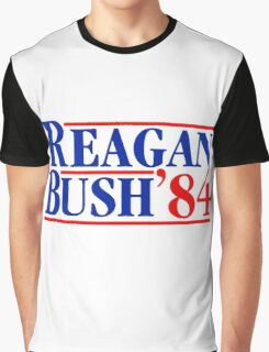 Reagan Bush 84 Graphic T-Shirt