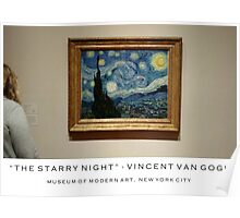 """The Starry Night""- Vincent Van Gogh Poster"