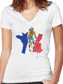 Vincenzo 2014 Women's Fitted V-Neck T-Shirt