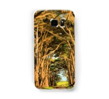 Cypress Lined Road Samsung Galaxy Case/Skin