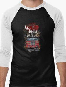 Firefighter FDNY Men's Baseball ¾ T-Shirt