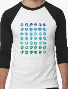 Pictogram rio de janiero 2016  Men's Baseball ¾ T-Shirt
