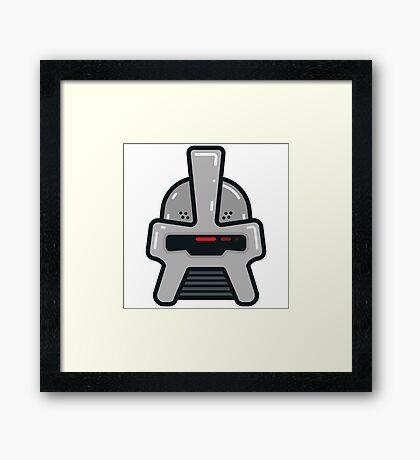 Classic Cylon Framed Print