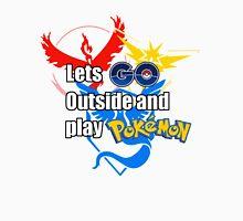 Pokemon Go- Lets Go Outside Unisex T-Shirt