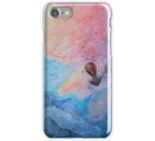 Airship - White background iPhone Case/Skin