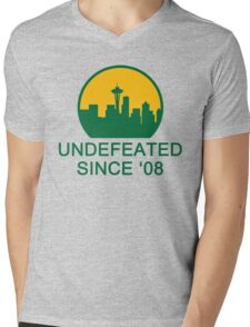 Undefeated Mens V-Neck T-Shirt