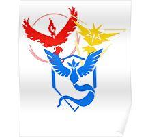 Pokemon Go- Teams Poster
