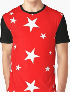 5 point stars red Graphic T-Shirt