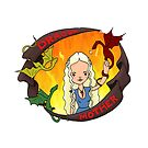 DRAGON MOTHER, Daenerys Targaryen by Bantambb