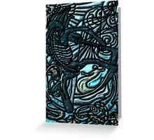 Tarot 13 The Death Greeting Card