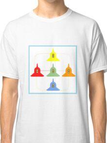 5 Buddhism Stupas Classic T-Shirt