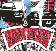 Pin Up Girl - Car Show No.02 Sticker