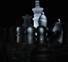 Frosted Chess Set by ncp-photography