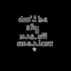 Don't be shy Mrs All American by 1DxShirtsXLove