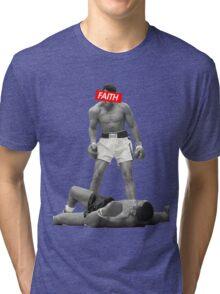 Muhammad Ali Faith Merchandise Tri-blend T-Shirt