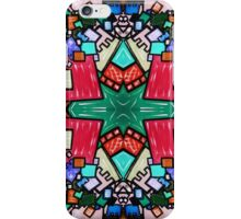 Tate - Created by a Genius (Square/Sym/Red) iPhone Case/Skin