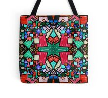 Tate - Created by a Genius (Square/Sym/Red) Tote Bag