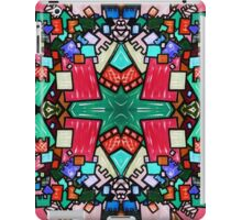 Tate - Created by a Genius (Square/Sym/Red) iPad Case/Skin