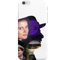 Seventh Doctor Silhouette iPhone Case/Skin