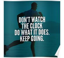 Do What The Clock Does Poster