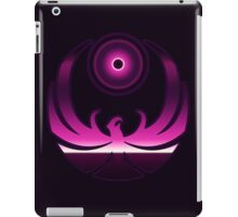 80's Digital Skyrim Nightingale Emblem iPad Case/Skin