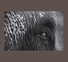 Close-up shot of Asian elephant eye T-Shirt
