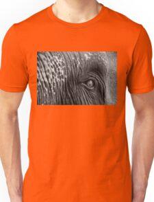 Close-up shot of Asian elephant eye Unisex T-Shirt