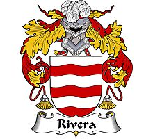 Rivera Coat of Arms/Family Crest Photographic Print