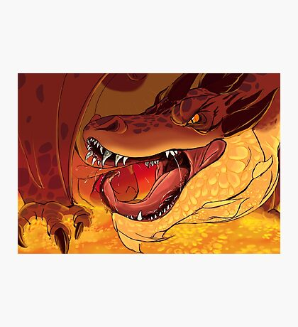 Greed's Roar Photographic Print