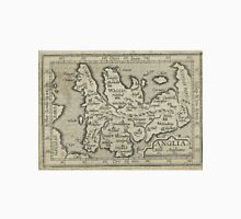Vintage Map of England (1603) Unisex T-Shirt