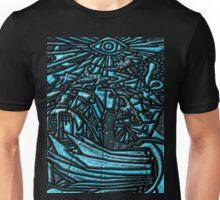 Tarot 16 The Tower Unisex T-Shirt
